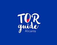Tor Guide Alicante. Corporate Identity
