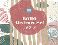 BOHO Abstract Set NO. 1