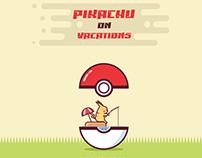 PIKACHU on vacations (POKEMON)