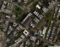 Satellite view of the Bronx