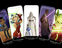 StarWars Tarot Peru Project II - The suit of Swords