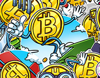 BITCOIN. Telegram Stickers — 2017