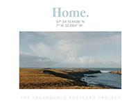 Postcard Project: Snapshots of home // Instalment 1