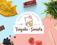 Taiyaki Sweets Logo Design and Branding