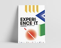 """Imagen gráfica """"Experience it"""""""