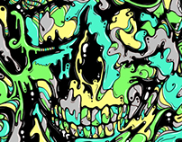Liquid Illustrations – Skull & Faces