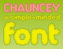 Chauncey - Typeface