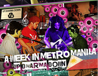 A Week in Metro Manila: Up Dharma Down DVD cover
