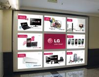 Painel LG Market Place