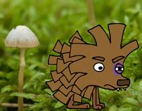Fiderill & Kottehunden, children's story