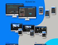 Hybrid Art (Social Network)