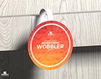 Free Advertising Wobbler Mockup