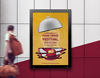 Brussels Food Truck Festival • Poster