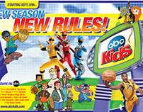 ABC Kids Launch Activity Ad Spreads