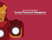 An Illustrated Guide to Iconic Fictional Weapons