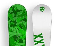 XXX Corps Snowboards
