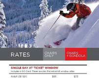 Crystal Mountain Brochure/ Winter 2010/11