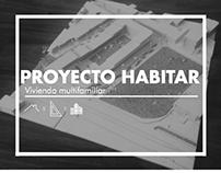 Proyecto habitar: Vivienda multifamiliar / ARQU-2101