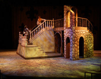 "Scenic Design for ""The Three Musketeers"""