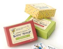 Johnston Honey Soap Packaging