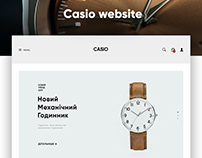 Casio website