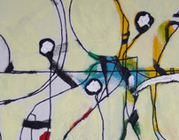 Paintings: Amusement and Airtport Series