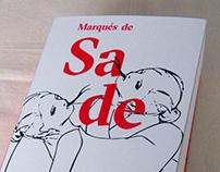 Diseño e ilustracion de portada —Marqués de Sade