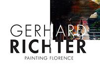 Gerhard Richter Exhibition Branding