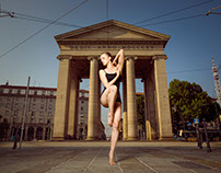 Contemporary Dance photoshoot in Milano