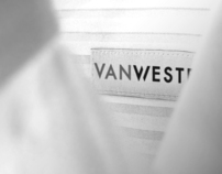 Van Westen Menswear- identity, in-store & branded items