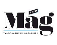 TypoMag. Typography in Magazines. Book design