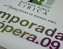 Buenos Aires Lírica. Temporada de Opera 2009