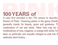 History of the Color Pink