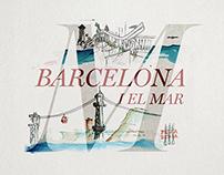 Barcelona i el mar | Il·lustració