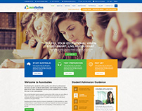 Educational website design - Ausstudies.com.au