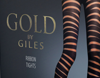 GOLD BY GILES Hosiery Collection SS12