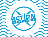 Action watersports visual identity