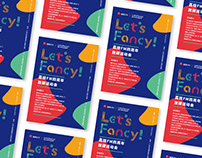 Let`s Fancy! Festival Branding, Visual Identity