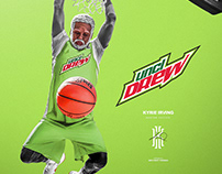 Uncle Drew | Kyrie Irving #11 | Mountain Dew Theme