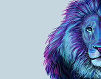 PHOTOSHOP LION