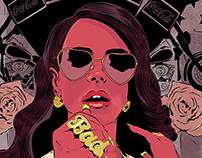 Illustration LANA DEL REY
