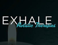 Exhale Holistic Therapies Brand Identity