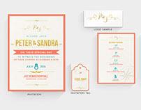Wedding Invitation Design | 2015