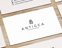 Anticca Fragrances (Branding)