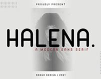 Halena Sans Serif Font