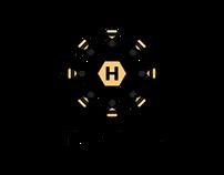 The Hive - Concept Logo + branding