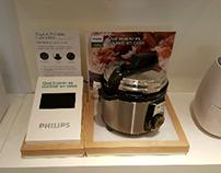 PHILIPS airfryer multimedia display