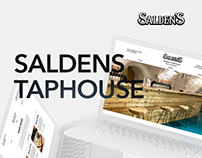 Taphouse Website. Saldens craft brewery.