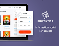 Kidventica — social network for parents and children