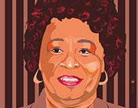 Story teller Rita Cox